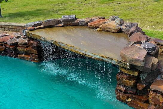 Stone Waterfall Water Features