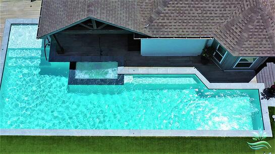 Modern Hardscape Pools