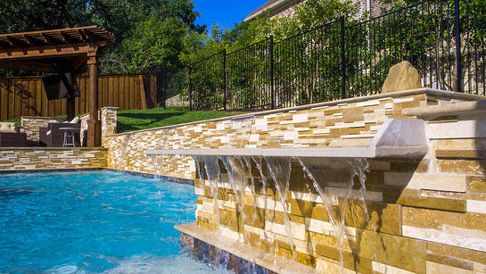 Tuscan Oasis Water Features
