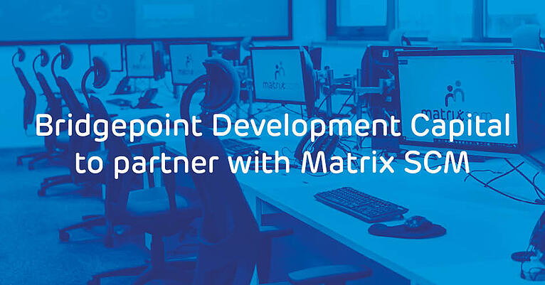 Bridgepoint Development Capital to partner with Matrix SCM