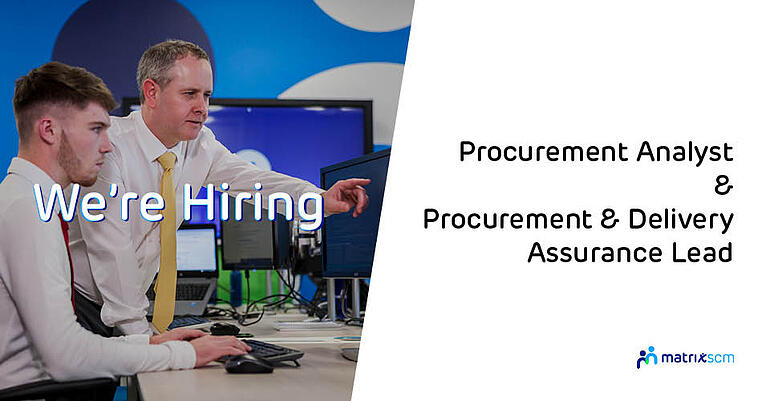 We are Hiring for our Procurement Team