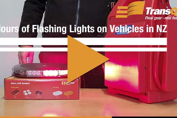 Colours of Flashing Lights on Vehicles