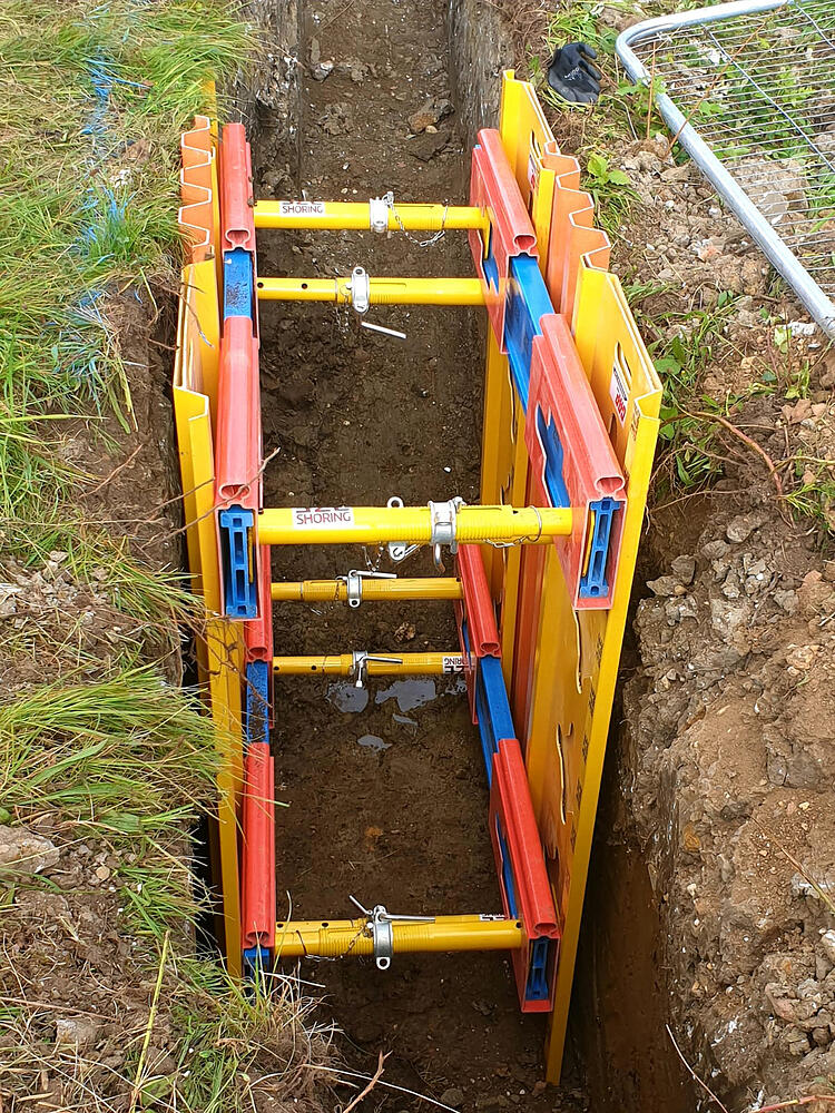 EZ Trench Shoring - available for trial