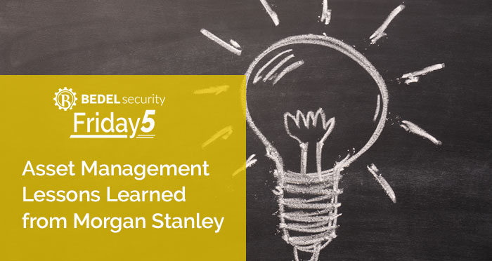 Asset Management Lessons Learned from Morgan Stanley