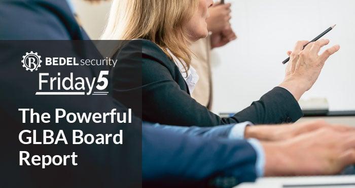 The Powerful GLBA Board Report