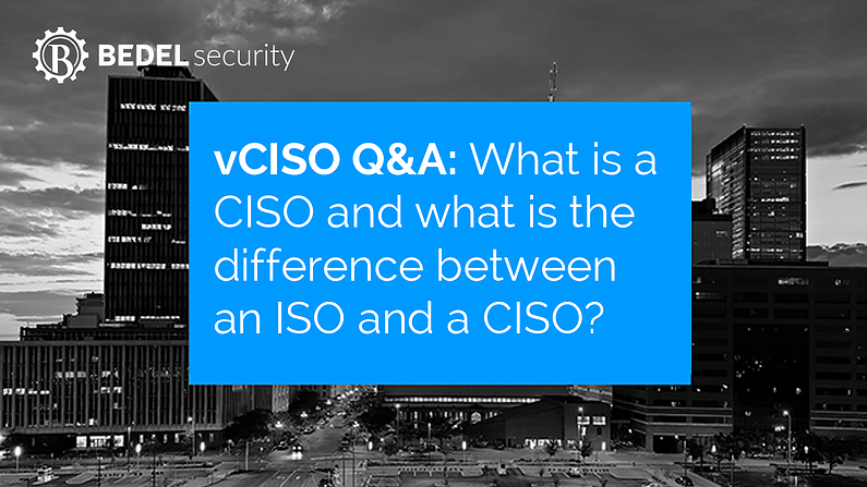 vCISO Questions and Answers 01: What is a CISO and what is the difference between an ISO and a CISO?