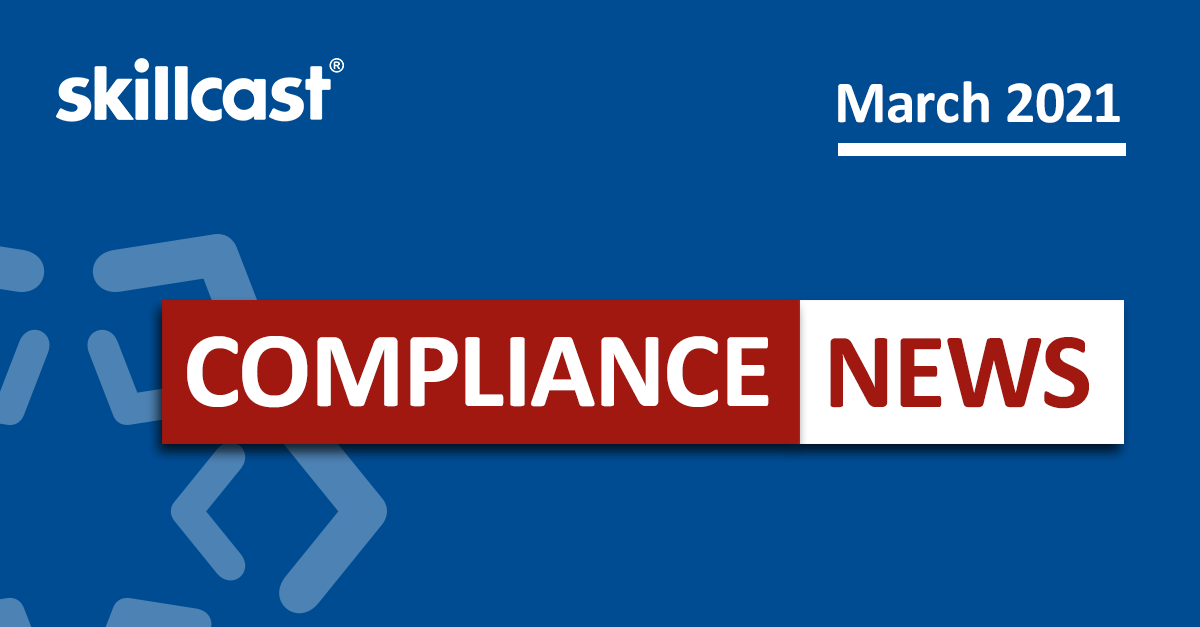 Compliance News | March 2021