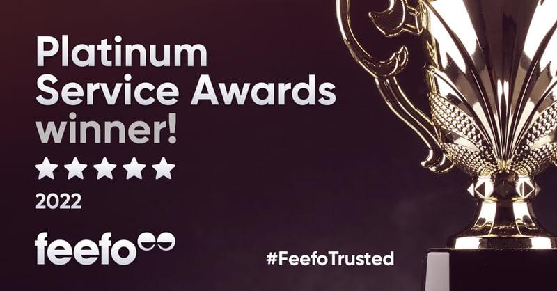 Skillcast Awarded Feefo Platinum Service Award in 2021