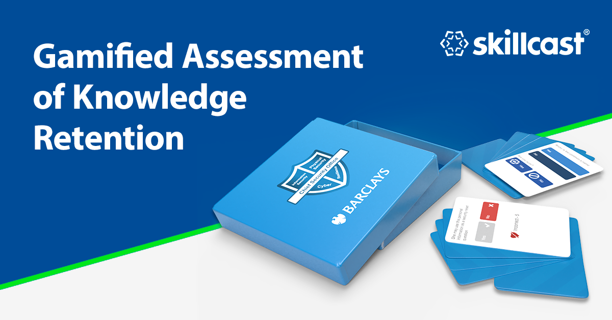 Gamified Assessment of Knowledge Retention