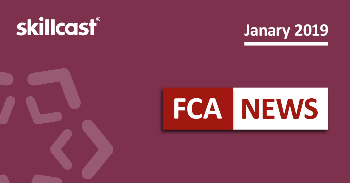 FCA Compliance News - January 2019
