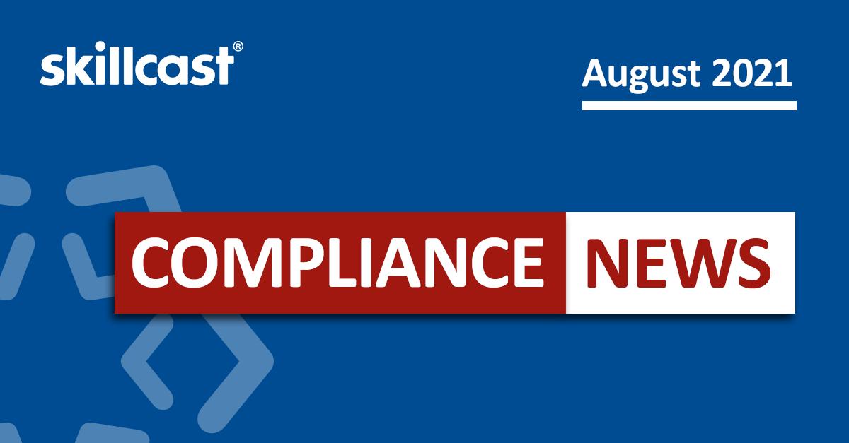 Compliance News | Aug 2021