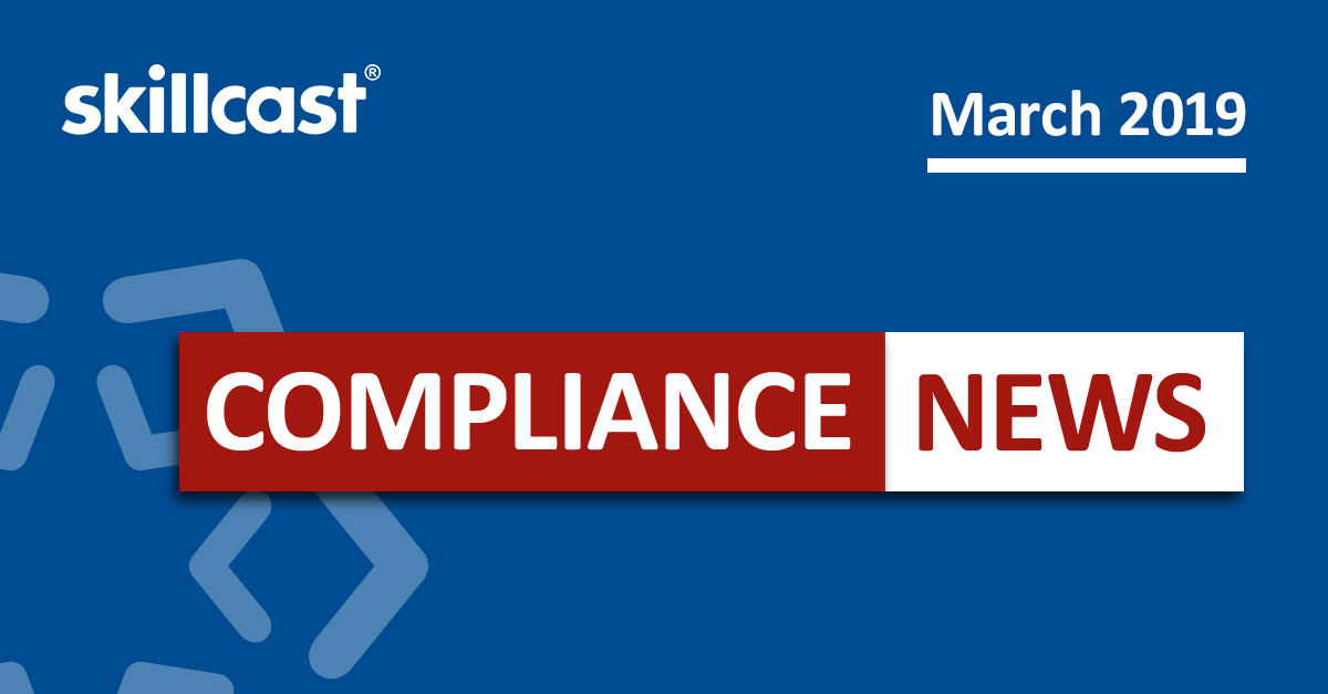 Compliance News - March 2019