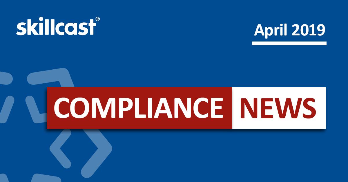 Compliance News - April 2019