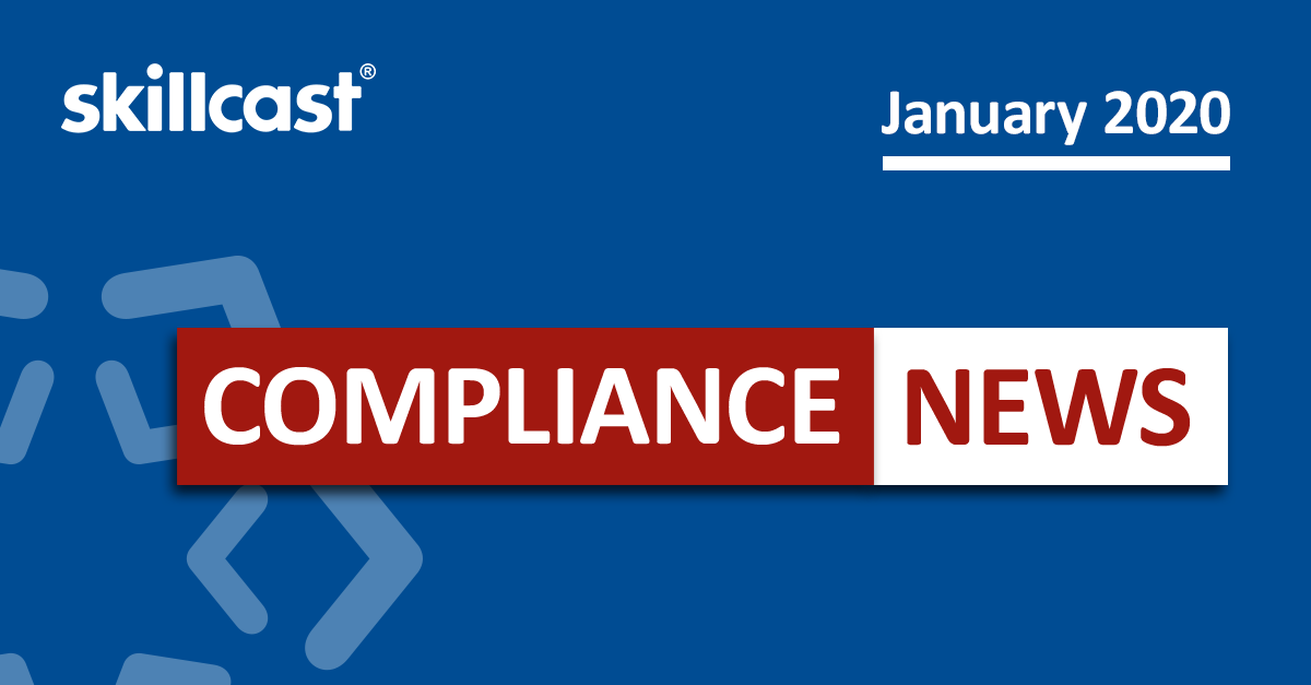 Compliance News - January 2020