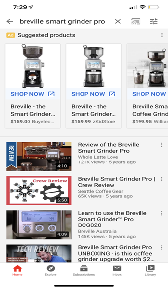 interactive video advertisements on youtube