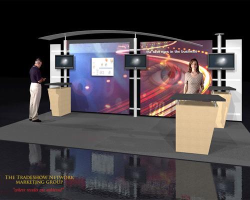 Used Trade Show Booth : Used trade show booths