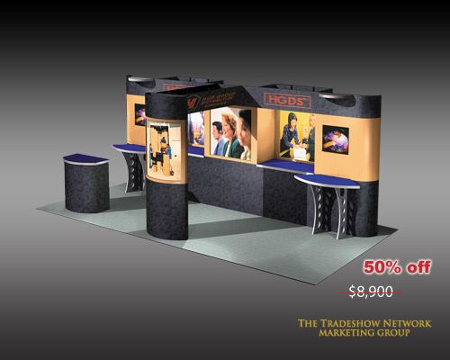 Used Trade Show Booth : Used trade show exhibit