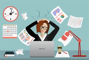 work stress from administrative tasks