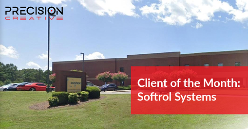Precision Creative's Client Of The Month: Softrol Systems