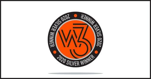 Precision Creative wins Silver Award in 15th Annual w3 Awards