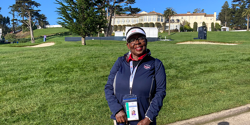 Volunteering for the U.S. Women's Open--A Top 10 Experience!