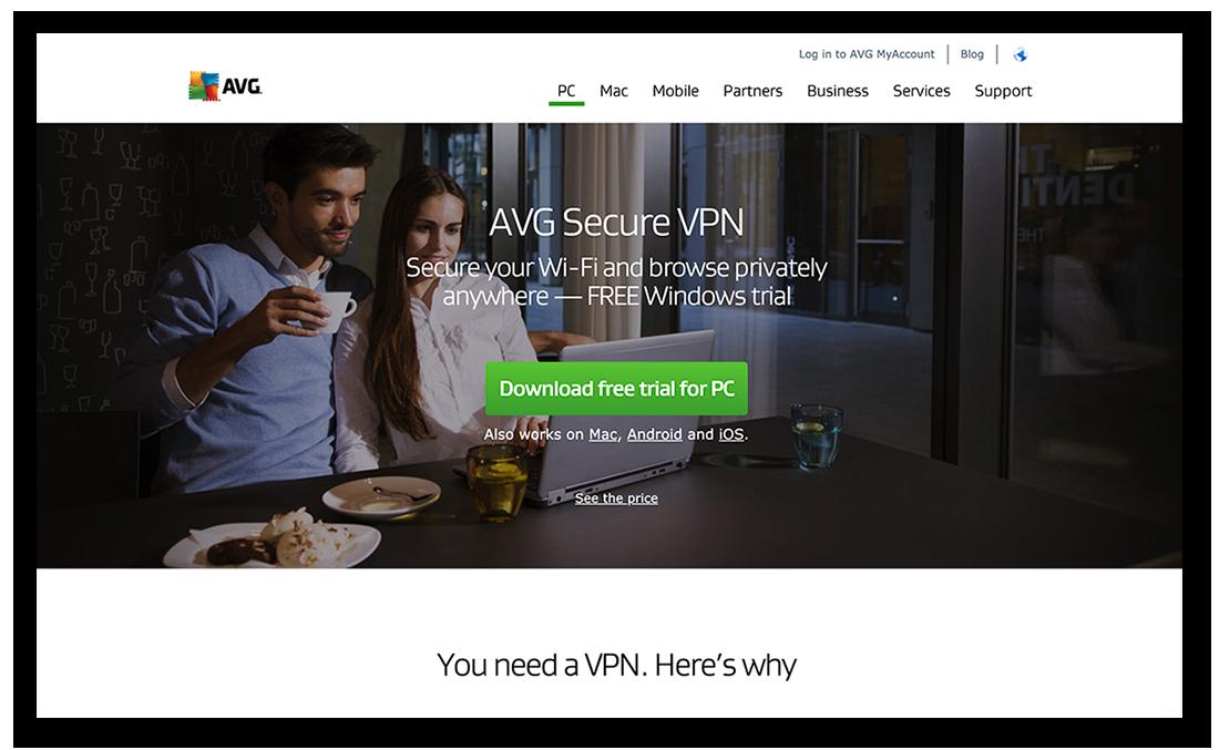 Downloading AVG Secure VPN for Windows