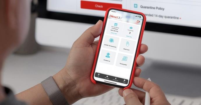 Utilizing a Mobile App to Instill Traveller Confidence & Ensure Safety