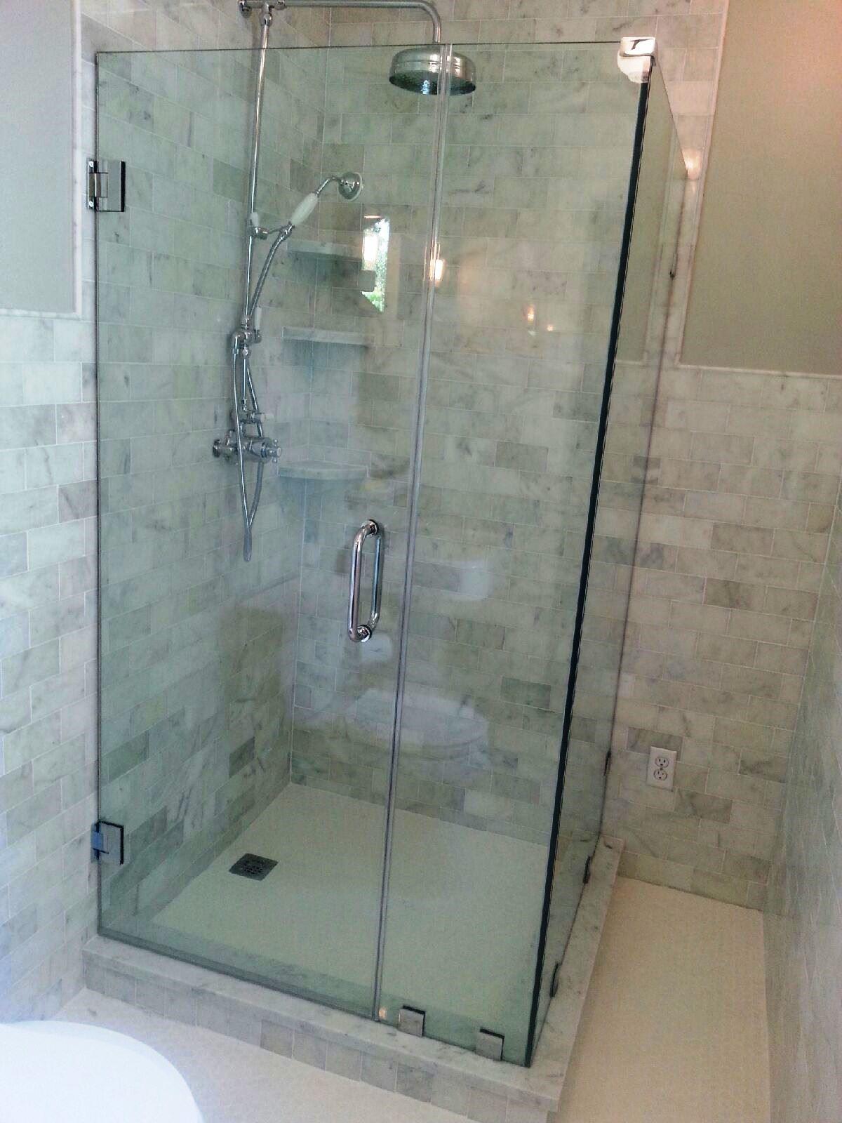 Small Glass Shower Doors Part - 19: Naples Glass Shower Enclosure