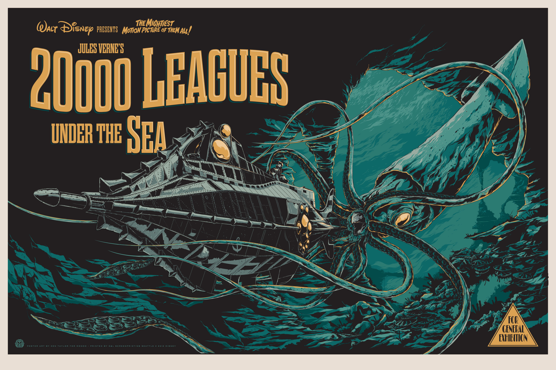 Fantasy League Book Cover ~ Science fiction classic leagues under the sea