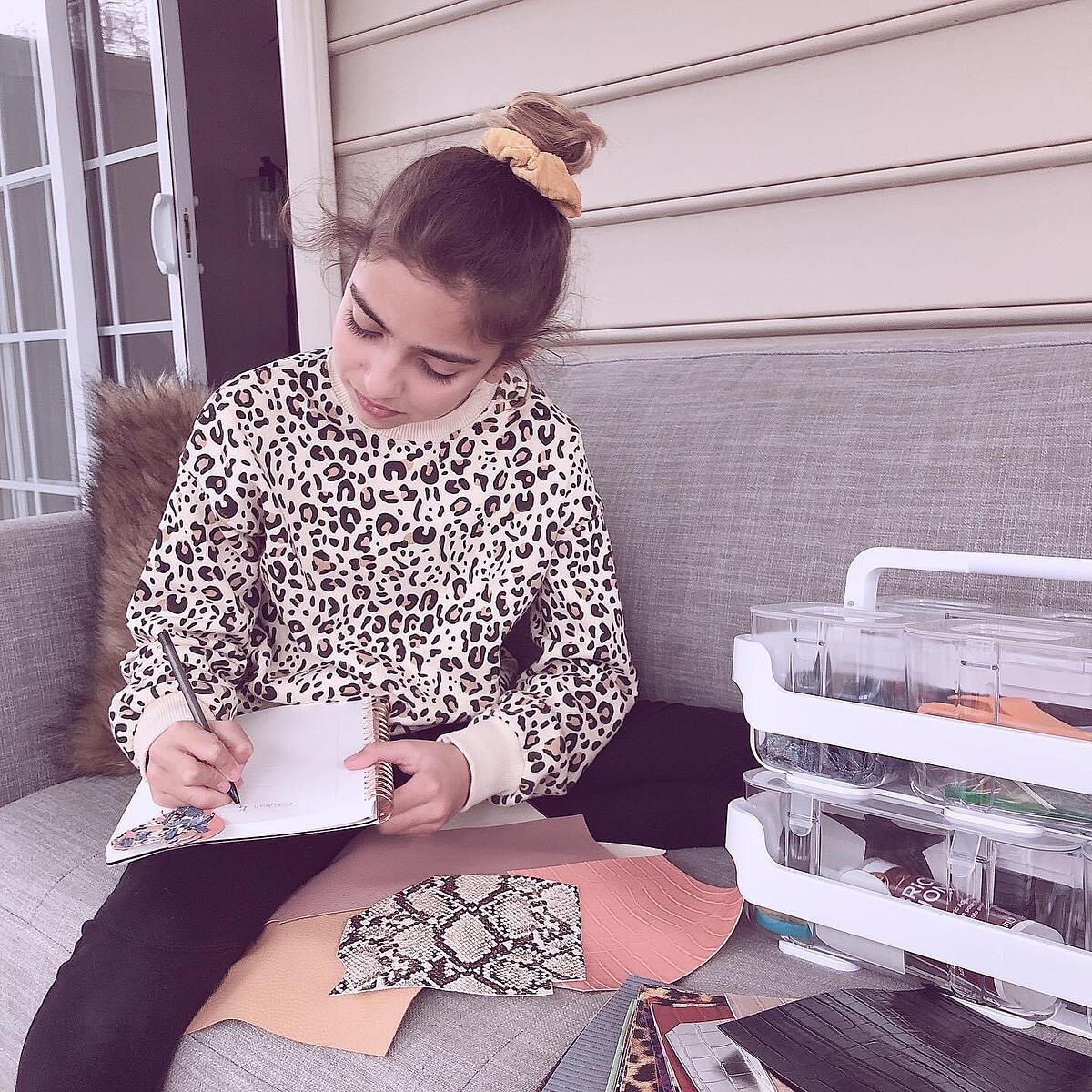 MakersValley | This Middle Schooler is Redefining Modern Fashion One Design at a Time