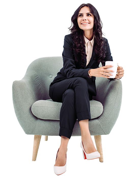 A woman, who implemented ERP