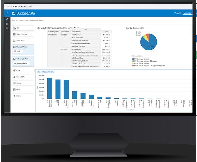 NetSuite analytics desktop