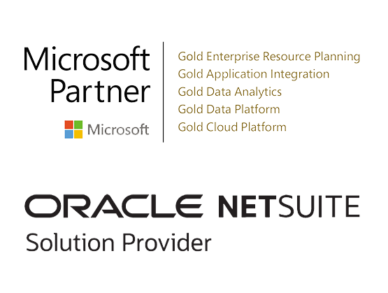 Microsoft and NetSuite logo