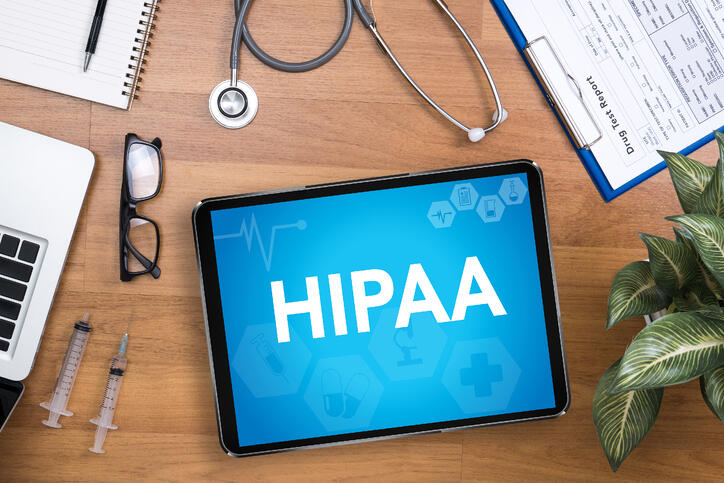 HIPAA Compliance, Ipad, Stethoscope, Doctor compliance