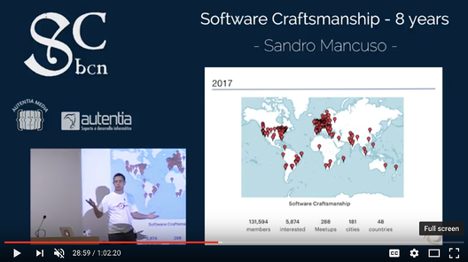 Software Craftsmanship - 8 Years