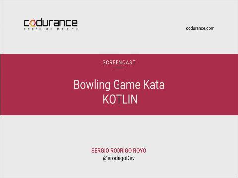 Bowling Kata in Kotlin