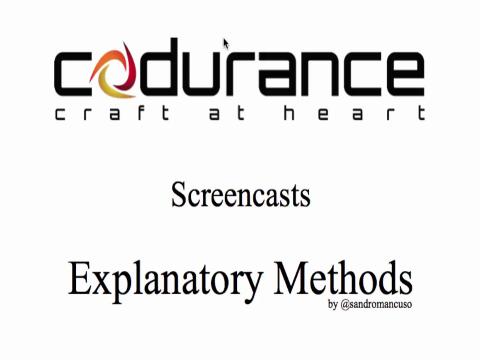 Explanatory Methods