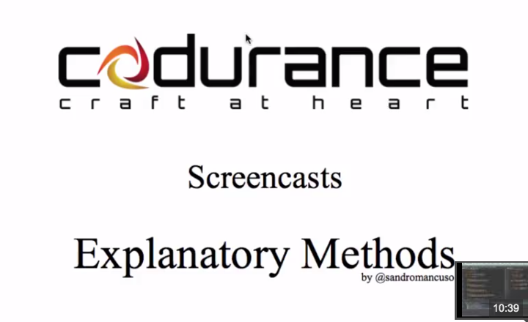 Screencast - Explanatory Methods