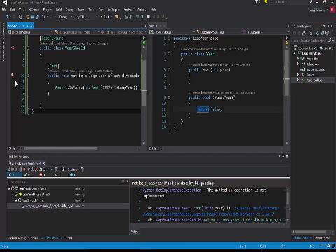 Mouseless programming