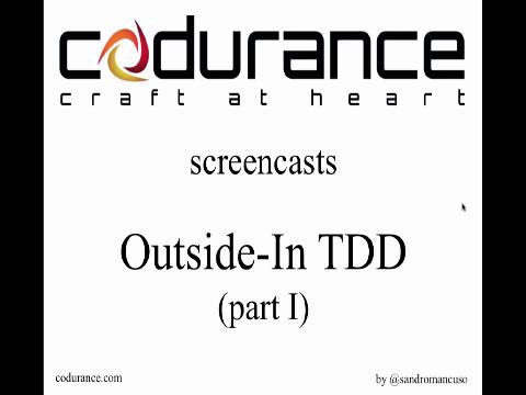 Outside-In TDD part 1