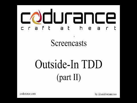 Outside-In TDD part 2