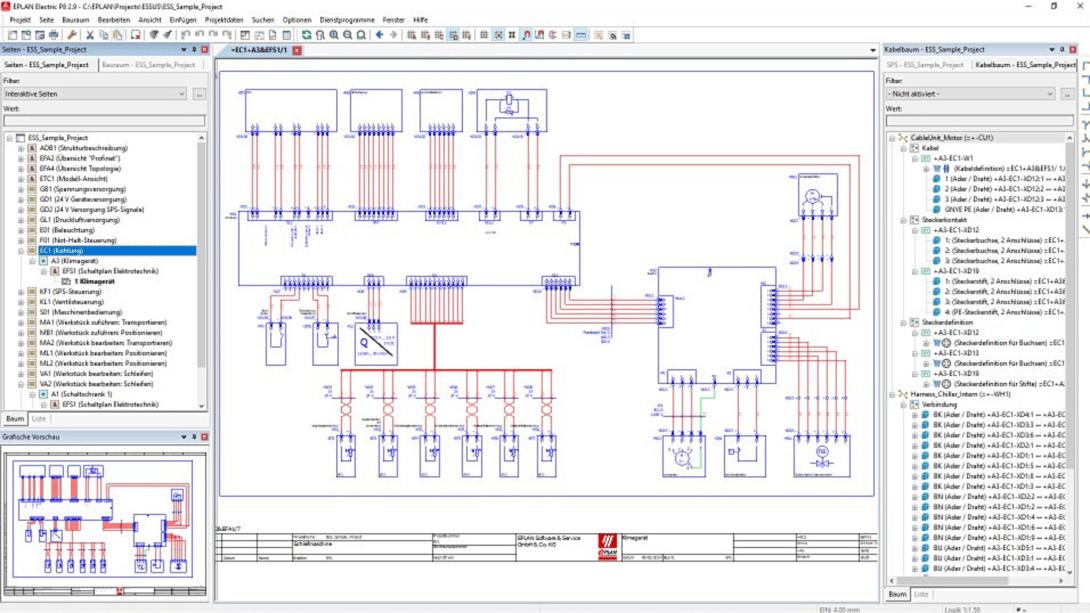 EPLAN Electric P8 electrical design software