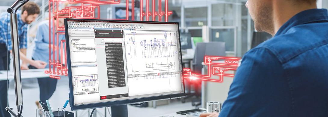 Snel schema's genereren met EPLAN eBUILD Free
