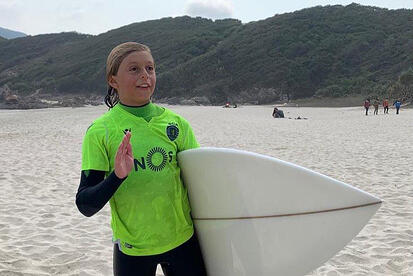 YCIS Young Surfer Triumphed in Recent Competition