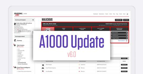 A1000 Version 6.0