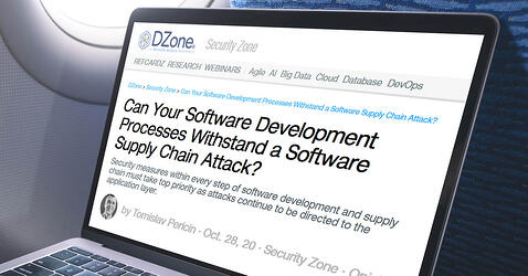 DZone: Can Your Software Development Processes Withstand a Software Supply Chain Attack?