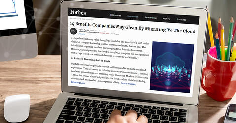 Forbes gathers insights to cloud migration benefits