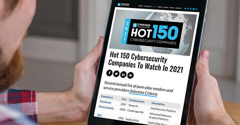 Cybercrime Magazine: Hot 150 Cybersecurity Companies To Watch In 2021