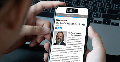 TSR: The Top 50 SaaS CEOs of 2021