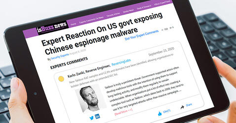 isBuzz News: Expert Reaction On US govt exposing Chinese espionage malware